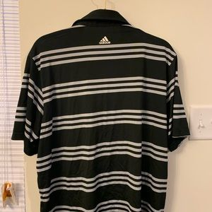 adidas Shirts - Adidas Striped Polo